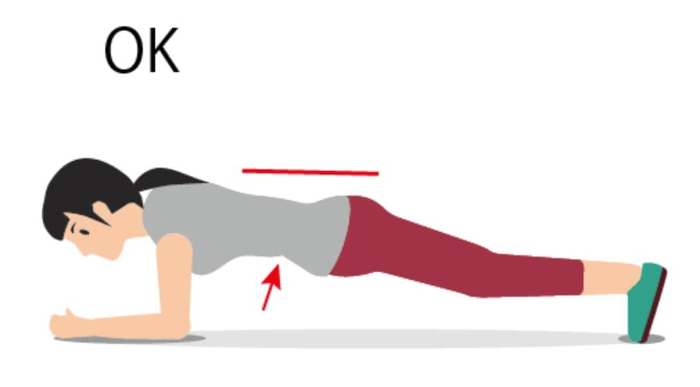 Plank OK